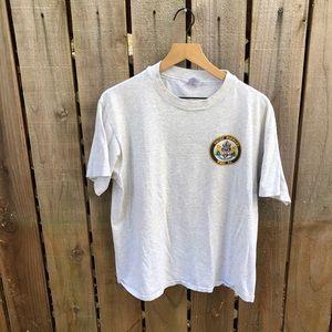 Vintage Men's Coast Guard 90s Shirt